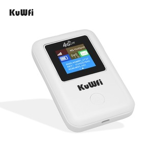Image 2 - KuWFi 4G WIFI Router Sim Card Pocket LTE Router Mini Outdoor Routers Car Mobile Wifi Hotspot for hauwei Apple Xiaomi