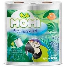 Туалетная бумага многослойная MOMI, 23+4 метра, 4 рулона
