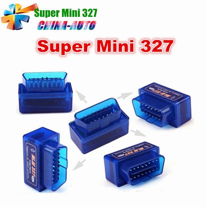 Prix pour V1.5 Super MINI ELM327 Bluetooth ELM 327 Version 1.5 OBD2/OBDII pour Android Couple Voiture Code Scanner