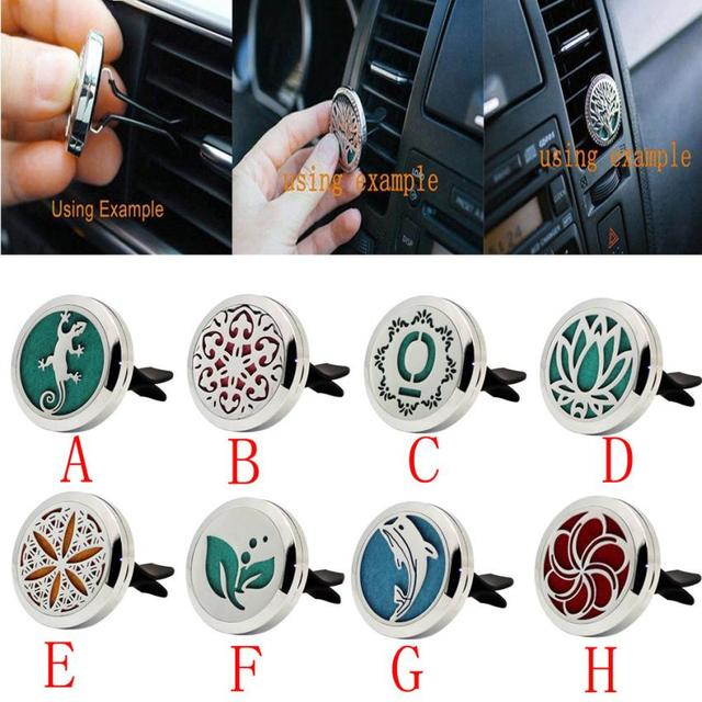 Car Interior Accessories Stainless Car Air Outlet Fragrant Perfume
