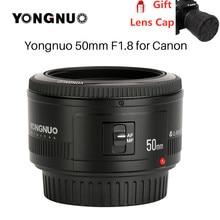 YONGNUO YN50mm YN50 F1.8 EF EOS 50MM AF MF Canon Camera Lens For Canon Rebel T6 EOS 700D 750D 800D 5D Mark II IV 10D 1300D canon ef 50mm f 1 2 l usm standard telephoto lens for 70d 760d 750d 7d ii 5d iii