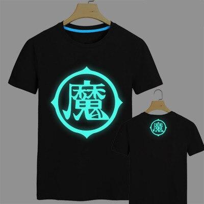 Anime Dragon Ball Z Fluorescent T Shirt