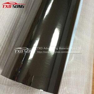Image 5 - High stretchable mirror Black gold rose gold silver Chrome Mirror flexible Vinyl Wrap Sheet Roll Film Car Sticker