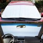 Rear Car Window Sunshade Film Sun Shades For Windshield Cover Front Car Sun Shade Visor Windscreen Heat Sun Shade Anti Snow
