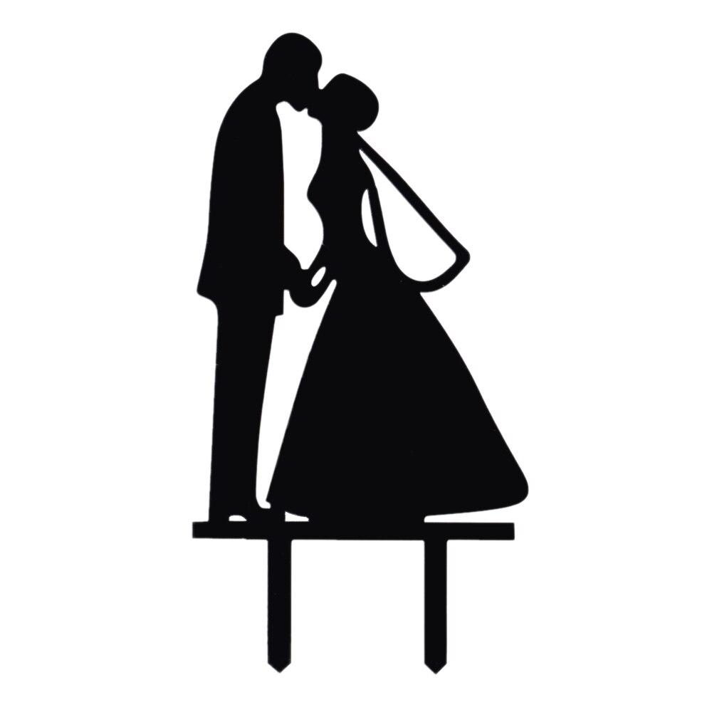 Fashionable Wedding Cake Decoration Tool Topper Adornos -8411