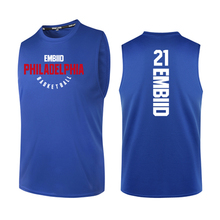 BONJEAN Design 21 Joel Embiid Printing Jersey Top Quality Uniforms Sports Basketball Jerseys Breathable Training Shirts