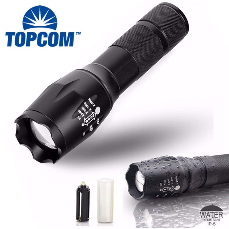 [Free ship] A new Military Grade tactical flashlight G700 Flashlight with nylon holster