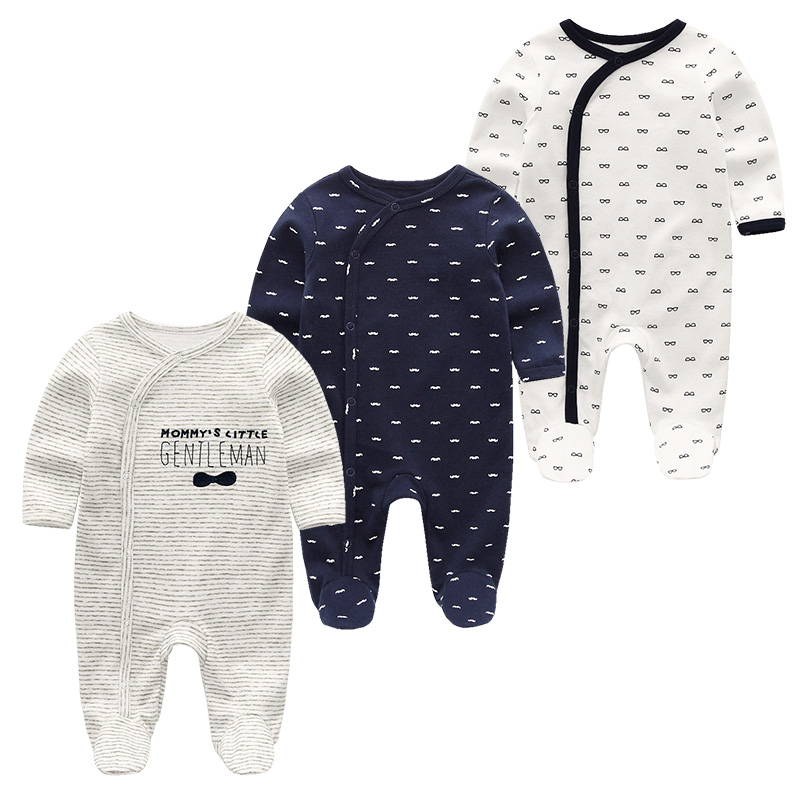 Baby Clothes Newborn Boy Girls   Rompers   Clothing Cotton Full Sleeve Infant Product Cartoon ropa de bebe Baby Pajamas&Jumpsuit