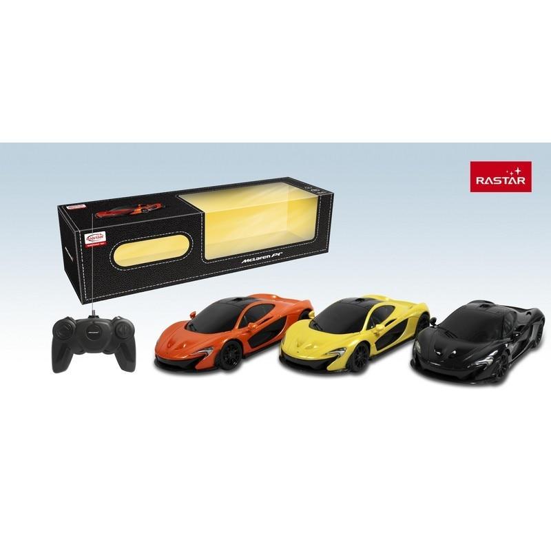 Купить со скидкой Rastar Машина р/у 1:24 МакЛарен P1, цвет оранжевый 40MHZ; жёлтый 27MHZ