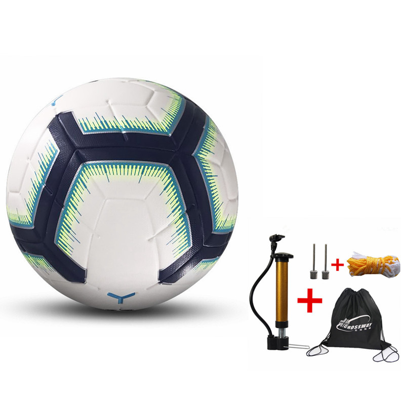 2020 New Professional Match Training Standard Soccer Ball Official Size 5 Football Anti-slip Futebol Voetbal