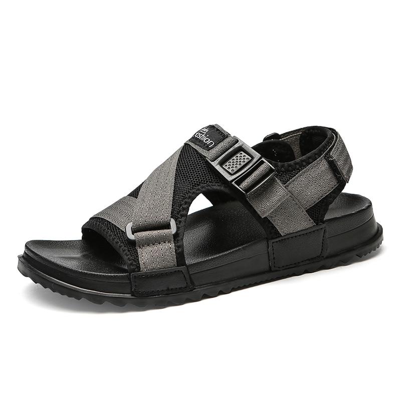 Men Sandals Gladiators Casual Roman Shoes Outside Breathable Mens Sandals Summer Comfortable Light Sandalias Hombre Plus Size 46 1