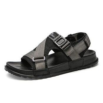 Men Sandals Gladiators Casual Roman Shoes Outside Breathable Mens Sandals Summer Comfortable Light Sandalias Hombre Plus Size 48 1
