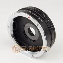 DSLRKIT Construire dans Aperture Adaptateur de Monture Dobjectif pour Canon EOS EF à Fujifilm FX Fuji X PRO1 X E1 X T1