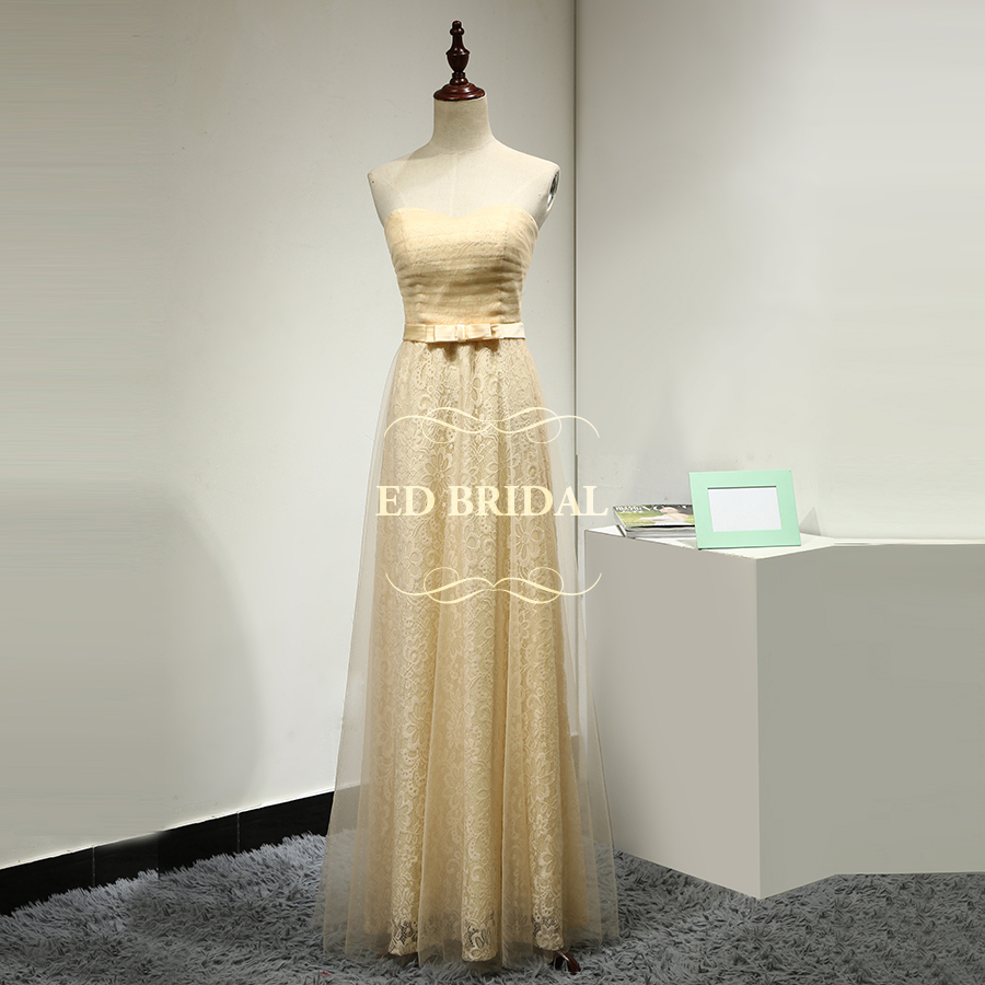Online get cheap customized bridesmaid dresses aliexpress custom made champagne lace bridesmaid dresses long women formal party dresses special occasion maid of honor ombrellifo Choice Image