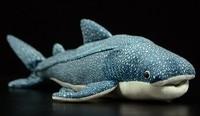52cm Original Big Simulation Whale shark Fish Soft Stuffed Animal Plush Toy Doll Birthday Gift Children Baby Gift