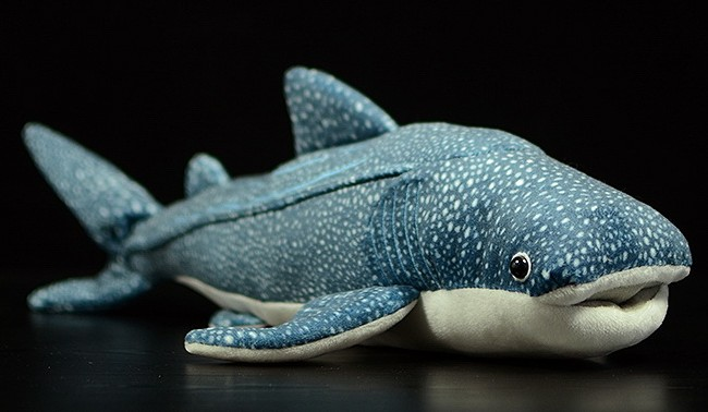 52cm Original Big Simulation Whale shark Fish Soft Stuffed Animal Plush Toy Doll Birthday Gift Children Baby Gift