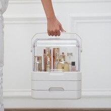 Large Tabletop Cosmetics/Makeup Organizer Portable Dustproof