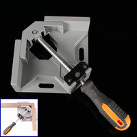 Single Handle 90 Degree Right Angle Clamp Welded Tool Woodworking Frame Clip ALI88