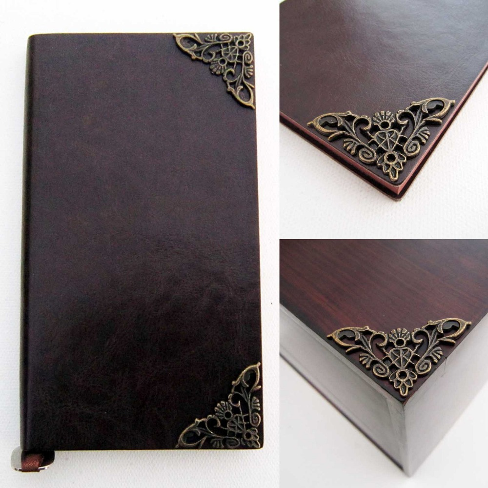 Retro Jewelry Box Gift Chest Book Scrapbook Album Corner Decorative Protectors