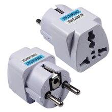 New Arrival 2019 Best Price Universal UK US AU to EU AC Power Socket Plug Travel Charger Adapter Converter FDAOZD-01 цена