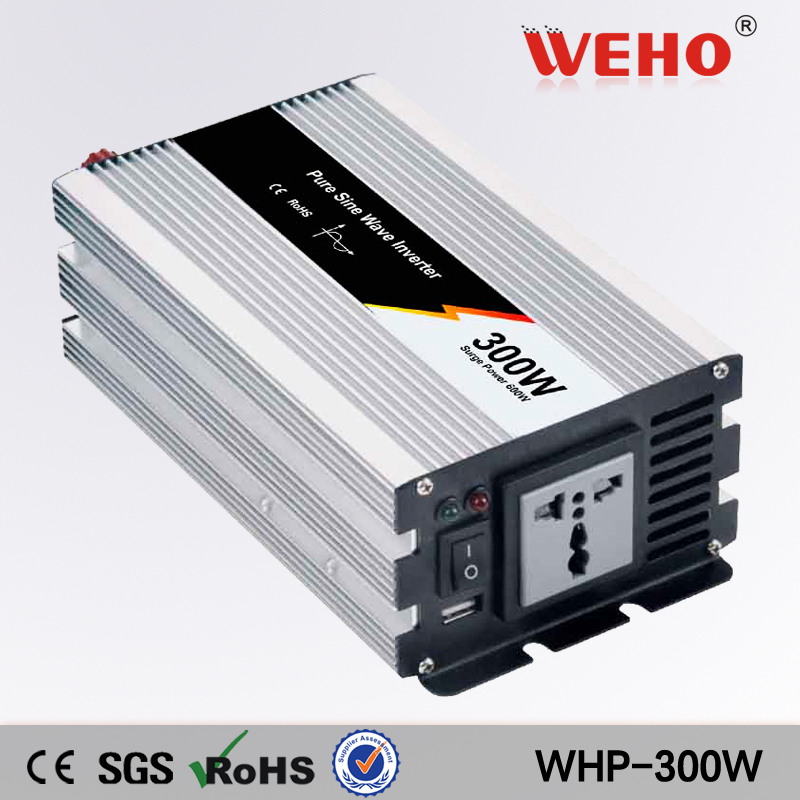 (WHP-300-242) 300W Pure Sine Wave Power Inverter Converter 24V DC to 220V AC 600 Watt Peak 300w 300 watt sine wave power inverter dc 12v to ac 220 240v converter