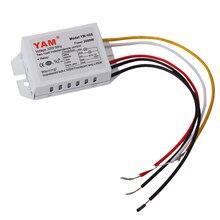 Цифровой переключатель подраздела 2 Way 3 Раздел управления освещением переключатель AC 220V