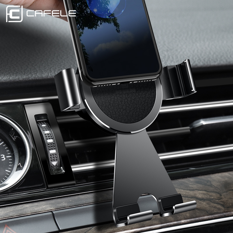 CAFELE Air Vent Car Phone Holder 360 Degree Rotation Car Holder for iphone Samsung Huawei Xiaomi Strong Protective GPS Holder
