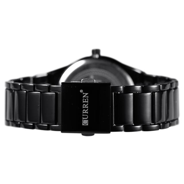 Curren Men Watches Top Brand Luxury Male Watch Full Steel Display Date Fashion Quartz-Watch Business Men's Watch Reloj Hombre