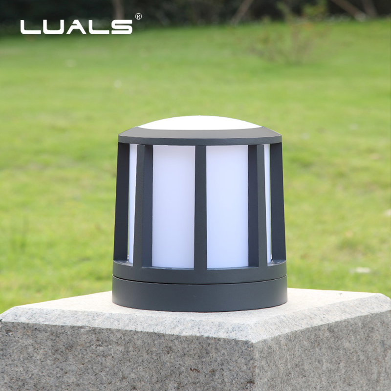 Us 127 84 32 Off Luxurious Lamp Posts Outdoor Lawn Lamps Garden Led Lighting Villa Landscape Lights Aluminum Light Deco In