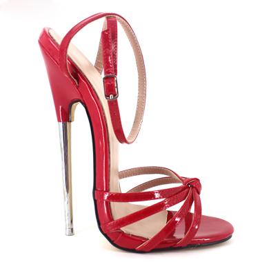 efe93d2f86b5c8 Fetisch Giaro Slick Neue 2018 Fashion Ankle Strap Spitz Frauen Schuhe  Metall stiletto Heels Mit Hohen