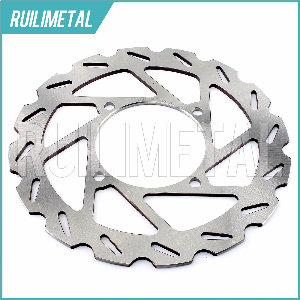 ATV QUAD Front Brake Disc Rotor for POLARIS 500 Scrambler 4x4 Sportsman HO EFI X2 X 2 Forest Touring H O 08 09 10 11 12 atv quad front brake disc rotor for polaris 500 sportsman efi quad h o 600 4x4 700 mv x 2 800 ntl ho touring big boss 6x6