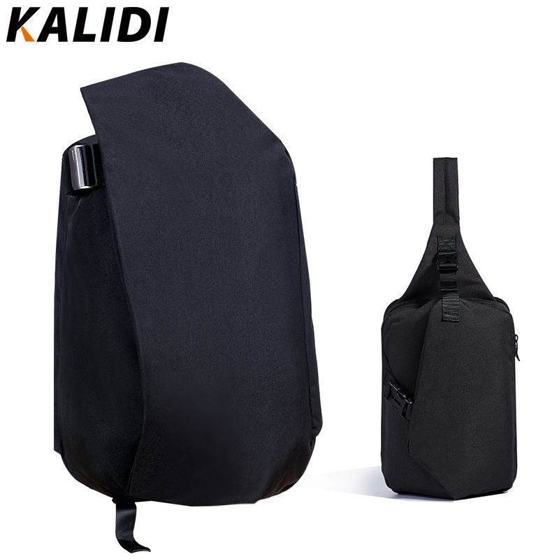 KALIDI Men's 15 Waterproof Laptop Travel Backpack School Bags + Unisex Chest Back Pack for Macbook Shoulder Messenger Sling Bag original a1706 a1708 lcd back cover for macbook pro13 2016 a1706 a1708 laptop replacement