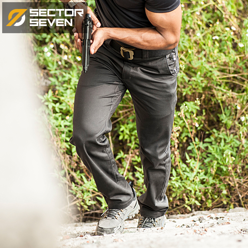 Pantallona taktike Pantallona mensi të papërshkueshëm nga uji IX6 - Veshje për meshkuj - Foto 2