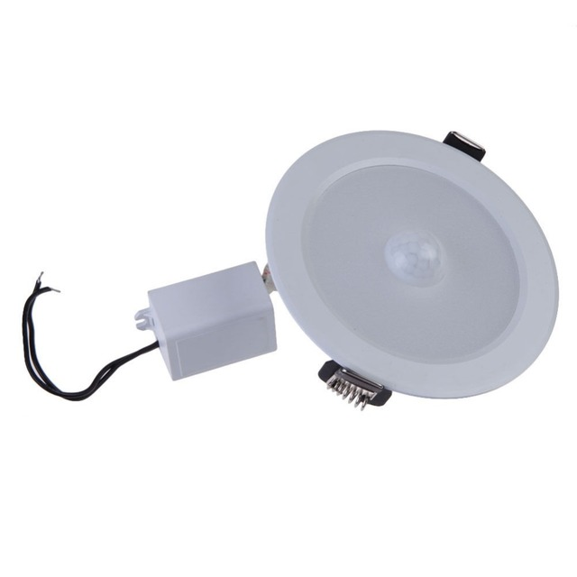 9W Recessed Led Panel Light PIR Sensor Motion Human body Sensor Surface Mounted Downlight Led ceiling  sc 1 st  AliExpress.com & 9W Recessed Led Panel Light PIR Sensor Motion Human body Sensor ...