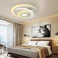 Новые ультратонкие потолочные светильники лампы для гостиной спальни люстры де Сала дома Dec LED люстра потолок Бесплатная доставка