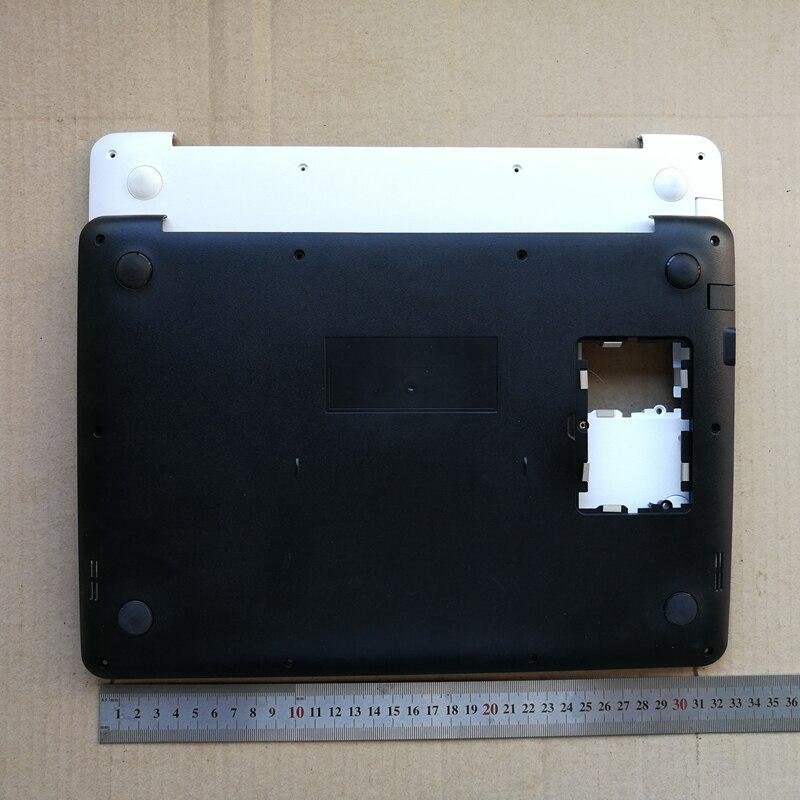 Neue laptop bottom fall basis abdeckung für ASUS X302 X302LA weiß/schwarz