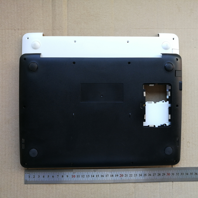New laptop bottom case base cover for <font><b>ASUS</b></font> <font><b>X302</b></font> X302LA white/black image