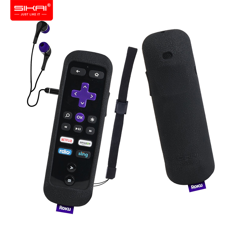 Roku Gaming Remote Control Cases for Roku 2 3 ( 4230 4200 4210 ) 4 Premiere+ RC54R SIKAI Covers Shockproof Protective Anti-Slip image