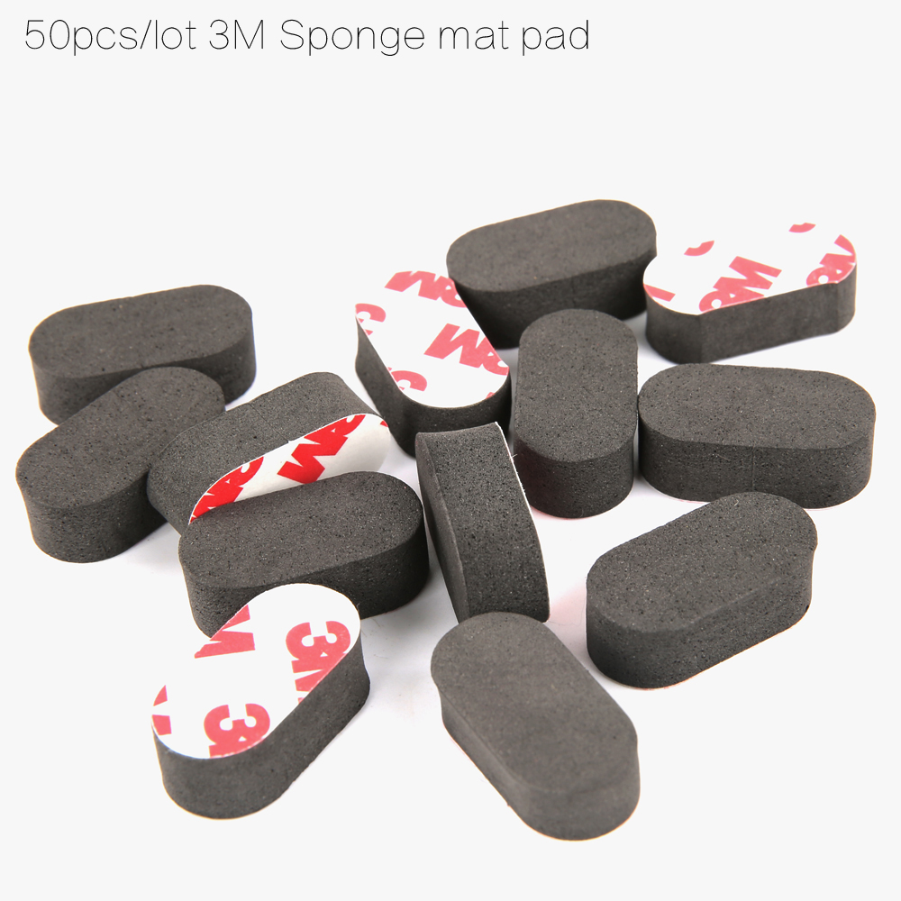 Ormino 50pcs M3 Sponge Landing Gear Skids Mat Feet Camera drone FPV accessories for iFlight ix5 frame/zmr 180 220 250 RC drone