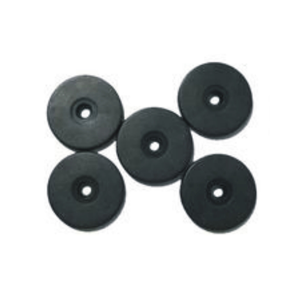 10pcs Free Shipping 13.56MHZ S 50 Chips RFID Patrol Point / 30mm Diameter Proximity Coin Tags  For  Guard Tour Patrol System