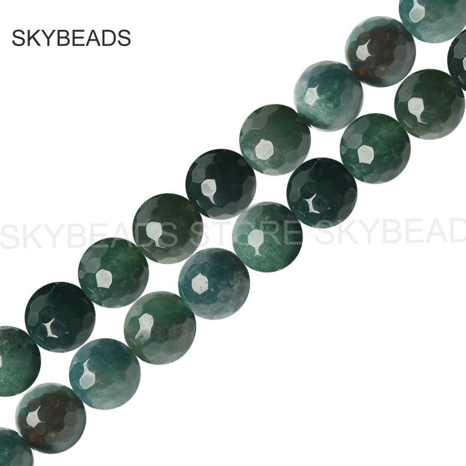 Esmerilado agrietado ágata redonda con cuentas 4mm Verde 90 piezas Piedras Preciosas Fabricación de Joyas