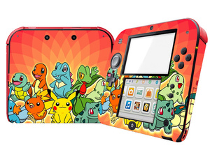 Image 4 - Pokemon Design Protector Vinyl Skin Sticker for 2DS  Cover Decal for Nintend 2DS