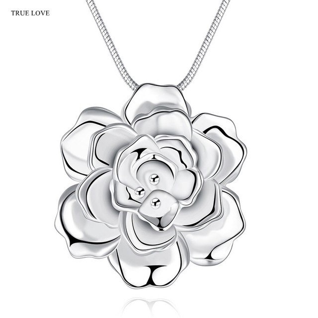 a gold chain the cluster ladies image yard in white by pendant diamond necklace on flower