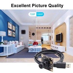 Image 4 - 1080P Full HD SONY IMX322 faible éclairage 0.01Lux CMOS H.264 AEC AEB AGC Support CCTV carte PCB USB caméra Module avec Audio