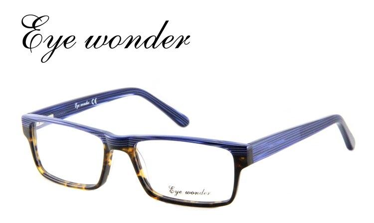 Hommes lentille claire montures de lunettes concepteur de marque Eyelass Gafas Lunette Oculos Occhiali Brill hommes yeux acétate myopie cadre verre