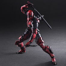 ARTS JOGAR 27 cm Marvel X-men super-homens Deadpool Super Hero Action Figure Modelo Brinquedos(China)