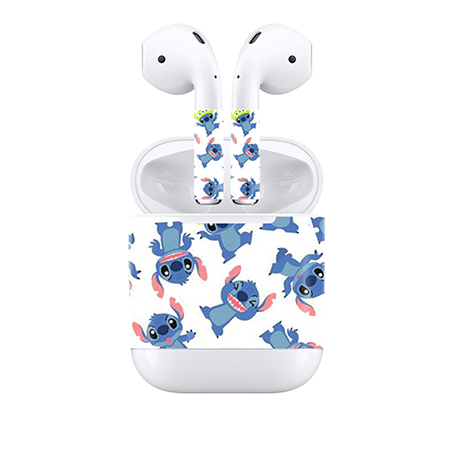 Us 2 98 Free Drop Shipping Customizable For Apple Airpods Skin Stickers Custom Made Personalized Decal In Stickers From Consumer Electronics On