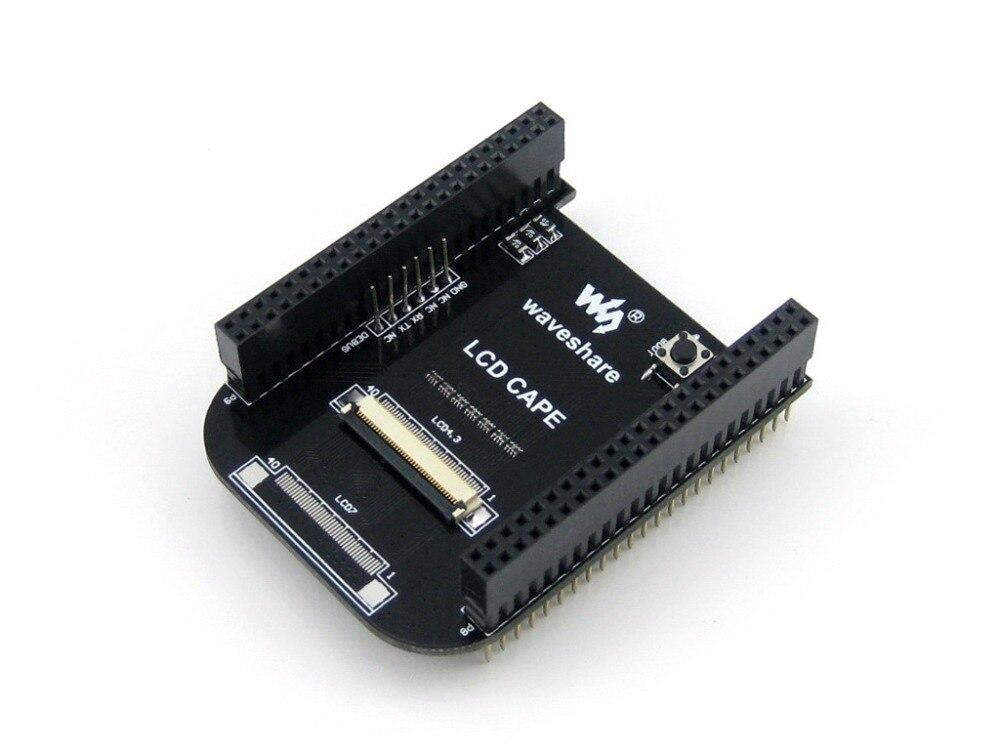 Beaglebone Black Kit 4GB 8bit eMMC 1GHz ARM Cortex-A8 Development Board Expansion Board Cape Supports 4.3inch LCD Screen