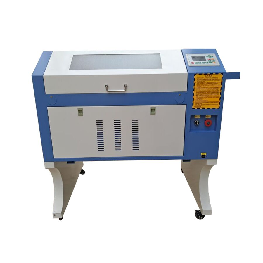 90W Reci Ruida System 4060 Laser Cutter Machine CO2 Engraving Machine + CW5000 Water Chiller + Rolling Rotary CNC Engraver