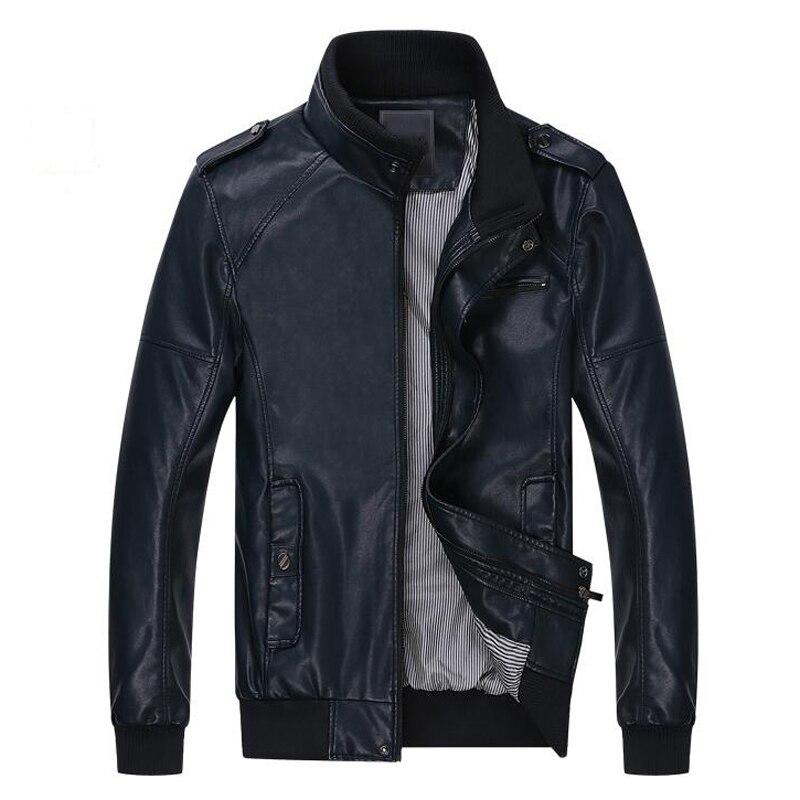 2016 Famous Brand Nice Motorcycle Jacket Men's Leather Jackets Plus Size Wholesale Mans Biker Coat Jacket Suede Leather S1733